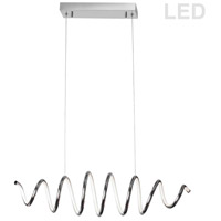 Dainolite PIR-36HP-PC Pirouette LED 36 inch Polished Chrome Horizontal Pendant Ceiling Light