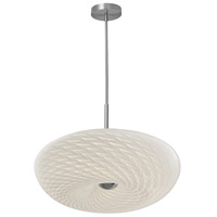 Dainolite PLD-1520-SC Signature LED 18 inch Satin Chrome Pendant Ceiling Light