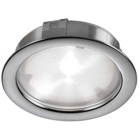 Cree 24 LED 3 inch Satin Nickel Puck Light