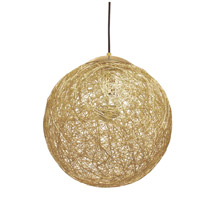 Dainolite PTN-151P-GLD Payton 1 Light 16 inch Gold Pendant Ceiling Light