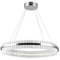Dainolite REI-24LEDC-PC Reina LED 24 inch Polished Chrome Chandelier Ceiling Light
