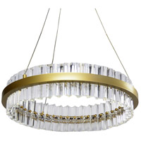 Dainolite REI-24LEDC-VB Reina LED 24 inch Vintage Bronze Chandelier Ceiling Light