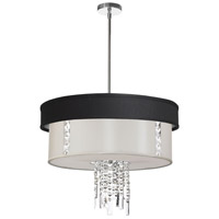 Dainolite Lighting Rita 3 Light Chandelier in Polished Chrome  RITA-24-3-PC-694-790