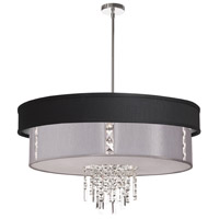 Dainolite RITA-31-4-PC-694-834 Rita 4 Light 31 inch Polished Chrome Chandelier Ceiling Light
