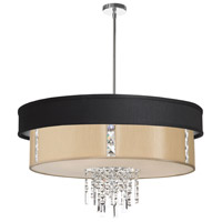 Dainolite Lighting Rita 4 Light Chandelier in Polished Chrome  RITA-31-4-PC-694-839