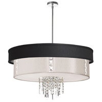 Dainolite Rita 4 Light Chandelier in Polished Chrome RITA-31-4-PC-694-840