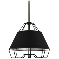 Dainolite ROC-1512-697 Rockwell LED 15 inch Black Pendant Ceiling Light