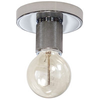 Dainolite RSW-41FH-PC Roswell 1 Light 5 inch Polished Chrome Flush Mount Ceiling Light