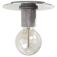 Dainolite RSW-61FH-PC Roswell 1 Light 8 inch Polished Chrome Flush Mount Ceiling Light