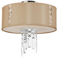 Dainolite Rita 2 Light Flush Mount in Polished Chrome RTA-12SF-PC-839
