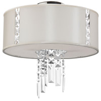 Dainolite Rita 2 Light Flush Mount in Polished Chrome RTA-12SF-PC-840