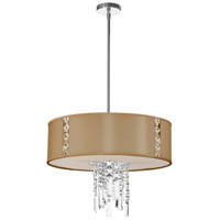 Rita 3 Light 21 inch Polished Chrome Chandelier Ceiling Light