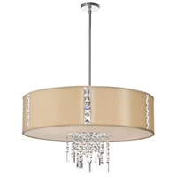 Dainolite Rita 4 Light Chandelier in Polished Chrome RTA-29-PC-839