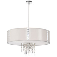 Dainolite Rita 4 Light Chandelier in Polished Chrome RTA-29-PC-840