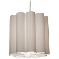 Dainolite SAN201-PC-838 Sandra 1 Light 19 inch Polished Chrome Pendant Ceiling Light photo thumbnail