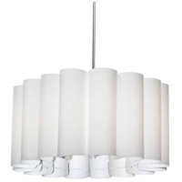 Dainolite SAN244-PC-790 Sandra 4 Light 24 inch Polished Chrome Pendant Ceiling Light