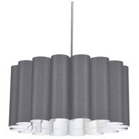 Dainolite SAN244-PC-835 Sandra 4 Light 24 inch Polished Chrome Pendant Ceiling Light
