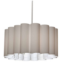 Dainolite SAN244-PC-838 Sandra 4 Light 24 inch Polished Chrome Pendant Ceiling Light