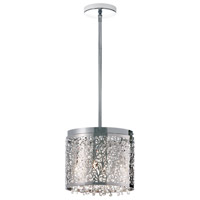 Dainolite SIE-114C-PC Sienna LED 10 inch Polished Chrome Chandelier Ceiling Light