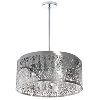 Sienna 8 Light 20 inch Polished Chrome Chandelier Ceiling Light