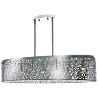 Sienna LED 36 inch Polished Chrome Chandelier Ceiling Light