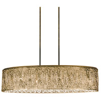 Sienna LED 36 inch Palladium Gold Chandelier Ceiling Light