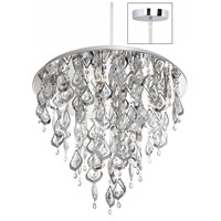 Dainolite Silhouette 8 Light Chandelier in Polished Chrome SIL-2118C-PC