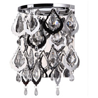 Dainolite Silhouette 2 Light Wall Sconce in Polished Chrome SIL-902W-PC photo thumbnail