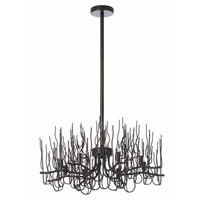 Sophora 8 Light 24 inch Espresso Chandelier Ceiling Light