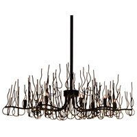 Sophora 8 Light 35 inch Espresso Chandelier Ceiling Light