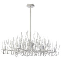 Sophora 8 Light 19 inch Matte White Chandelier Ceiling Light