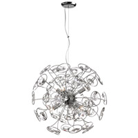 Dainolite Stanza 6 Light Chandelier in Polished Chrome STN-186C-PC