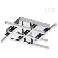 Summit LED 16 inch Polished Chrome Flush Mount Ceiling Light