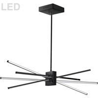 Dainolite SUM-35HP-MB Summit LED 34 inch Matte Black Pendant Ceiling Light