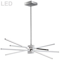 Dainolite SUM-35HP-PC Summit LED 34 inch Polished Chrome Horizontal Pendant Ceiling Light photo thumbnail