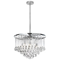 Tamara 8 Light 20 inch Polished Chrome Chandelier Ceiling Light