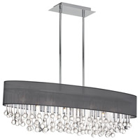 Tamara 8 Light 38 inch Polished Chrome Chandelier Ceiling Light