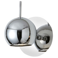 Functional Polished Chrome 50 watt 1 Light Spot Light