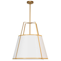 Trapazoid 3 Light 24 inch Gold Pendant Ceiling Light