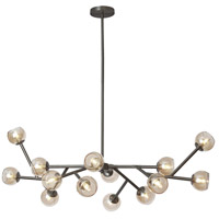 Tanglewood 14 Light 14 inch Vintage Steel Chandelier Ceiling Light