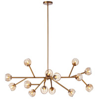Tanglewood 14 Light 39 inch Vintage Brandze Chandelier Ceiling Light