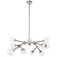Dainolite TWD-4012C-SC Tanglewood LED 25 inch Satin Chrome/White Chandelier Ceiling Light