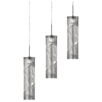 Dainolite Umbra 3 Light Pendant in Polished Chrome UM-34HP-PC