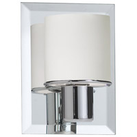 Dainolite Lighting Frosted Glass 1 Light Vanity in Polished Chrome  V020-1W-PC photo thumbnail