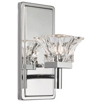 Chrome Glass Signature Wall Sconces