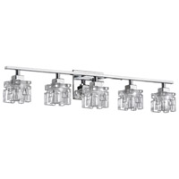 Katarina 5 Light 4 inch Polished Chrome Vanity Wall Light