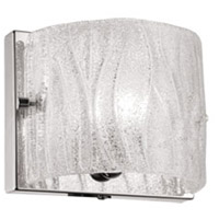 Signature 1 Light 6 inch Polished Chrome Vanity Wall Light