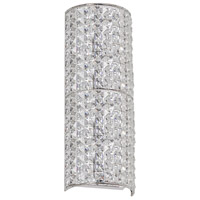 Dainolite Signature 3 Light Vanity in Polished Chrome with Brilliant Crystals V677-VW-PC