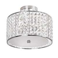 Dainolite Lighting Crystal 4 Light Vanity in Polished Chrome  V679FH-PC