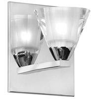 Dainolite V689-1W-PC Signature 1 Light 5 inch Polished Chrome Vanity Wall Light